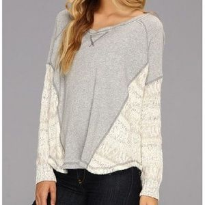 Free People Beautiful Sinner Pullover in Neutral